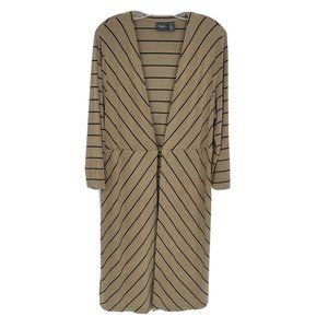 Chicos Travelers long sleeve striped cardigan 2